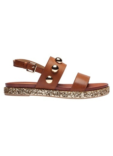 İnci Sandalet Taba